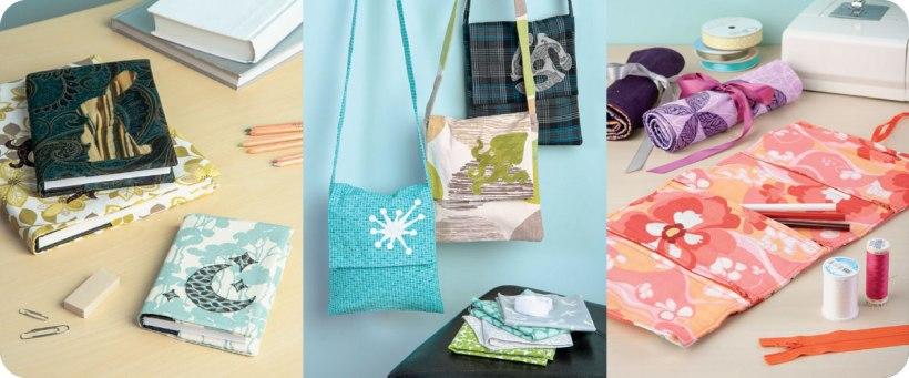 Book Covers, Mini Messenger Bags, & Roll-up Pencil Cases Photo © Design Originals