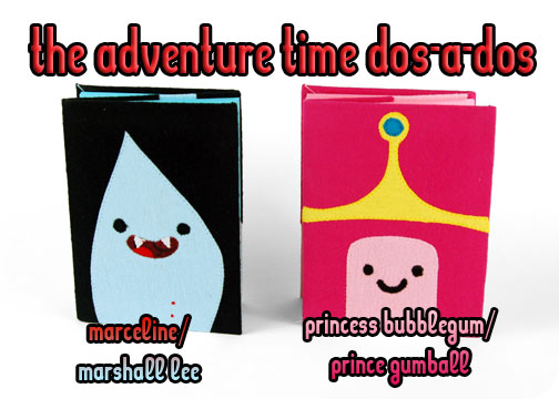 I Made Some More Of The Adventure Time Dos A Bound Notebooks