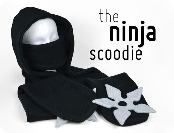 Freebie Friday The Ninja Scoodie Choly Knight