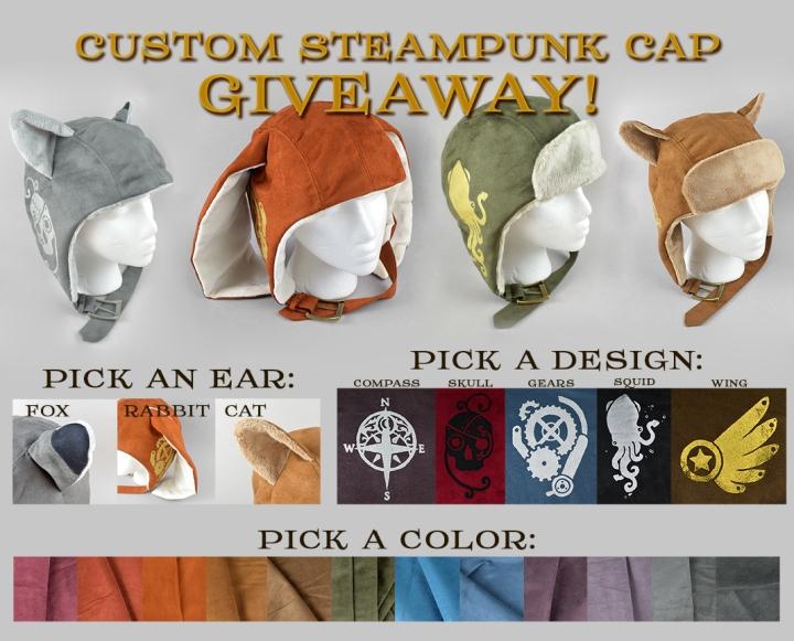 SteampunkCapGiveaway