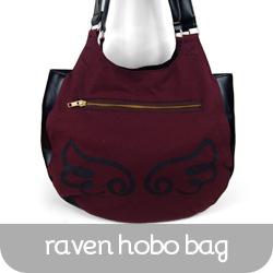 027-RavenHoboBag