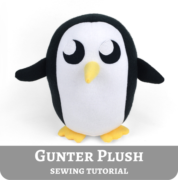 I Havent Done Some Adventure Time Fanart In A Little While So Was Starting To Have Withdrawals Ive Wanted Try Out Making Gunter Plush For