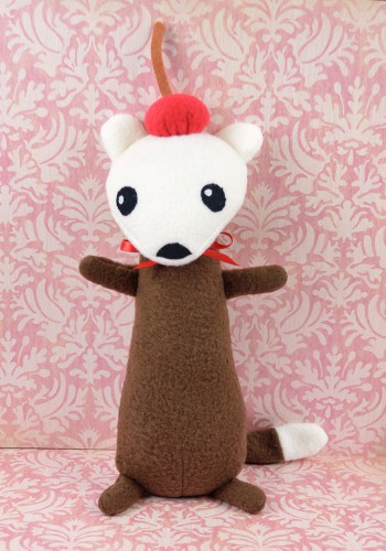 Root Beer Stoat Plush