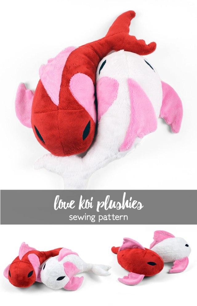 Free Pattern Friday Love Koi Plushies Choly Knight