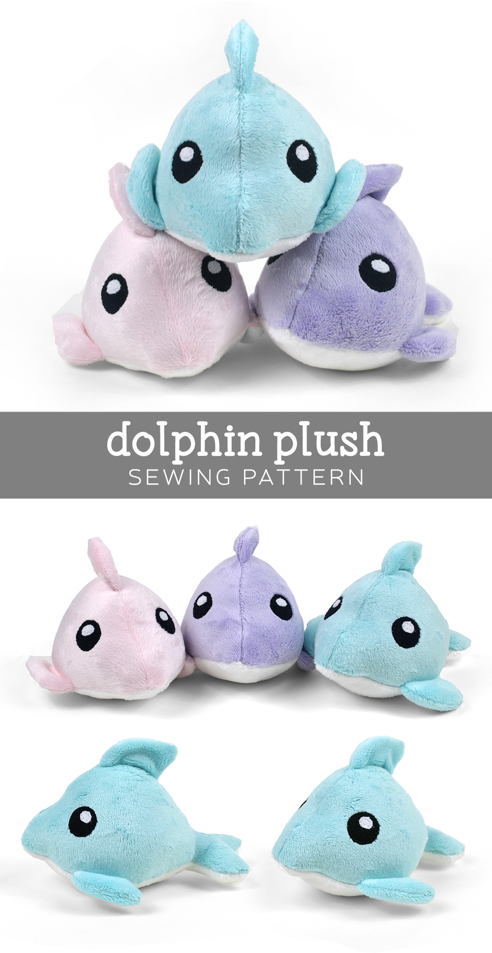 Free pattern friday dolphin plush choly knight i kept coming across awesome mysterious animals with strange colors like the maltese tiger the albino sewer gator or in this case pink dolphins pronofoot35fo Choice Image