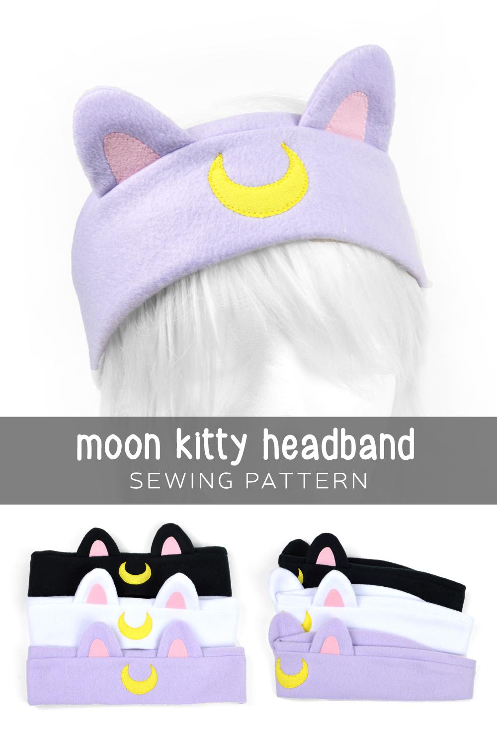 Free Pattern Friday! Moon Kitty Headband | Choly Knight
