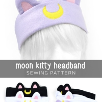 Free Pattern Friday! Moon Kitty Headband