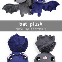 Free Pattern Friday! Bat Plush