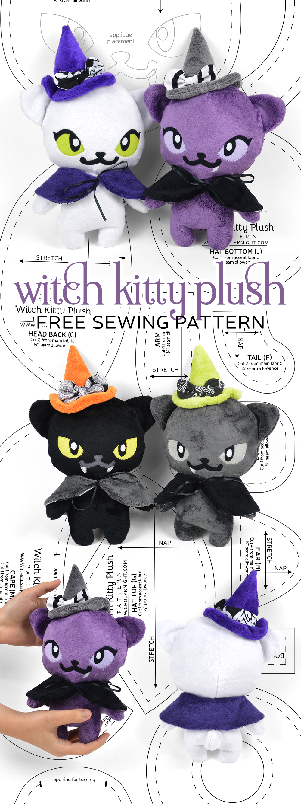 9cb9c6aaff Witch Kitty Plush
