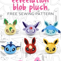 Free Pattern Friday! Eeveelution Blob Plush