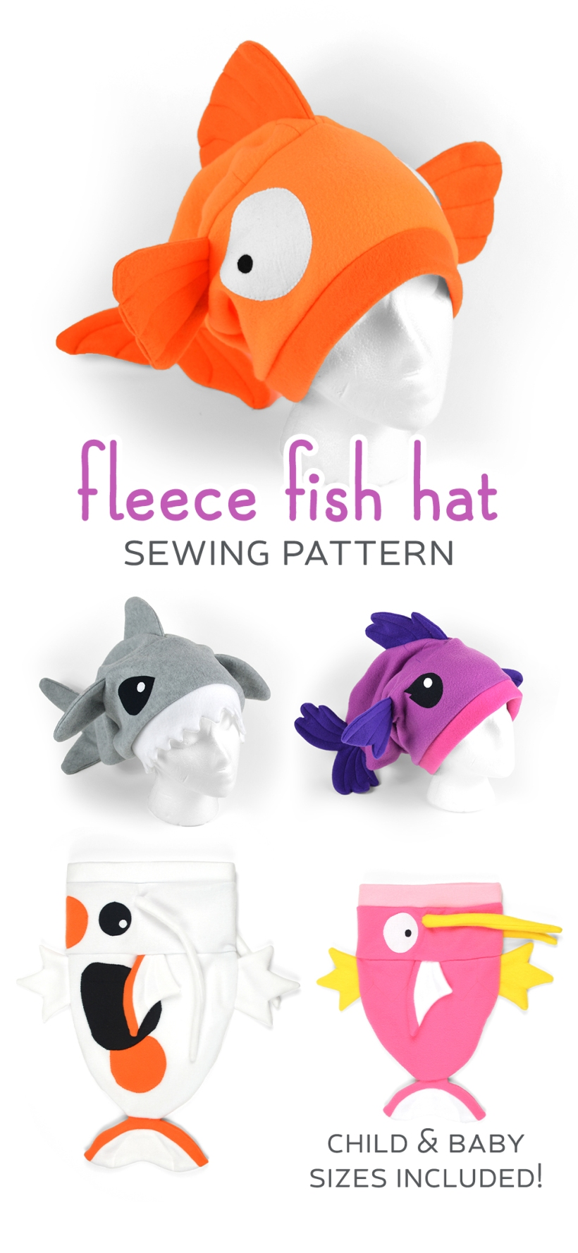 New shop pattern fleece fish hat choly knight new shop pattern fleece fish hat jeuxipadfo Image collections
