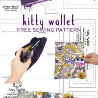 Free Pattern Friday! Kitty Wallet