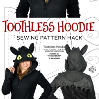 Pattern Hack! Night Fury Hoodie