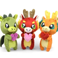Free Pattern Friday! Love Dragon Plush