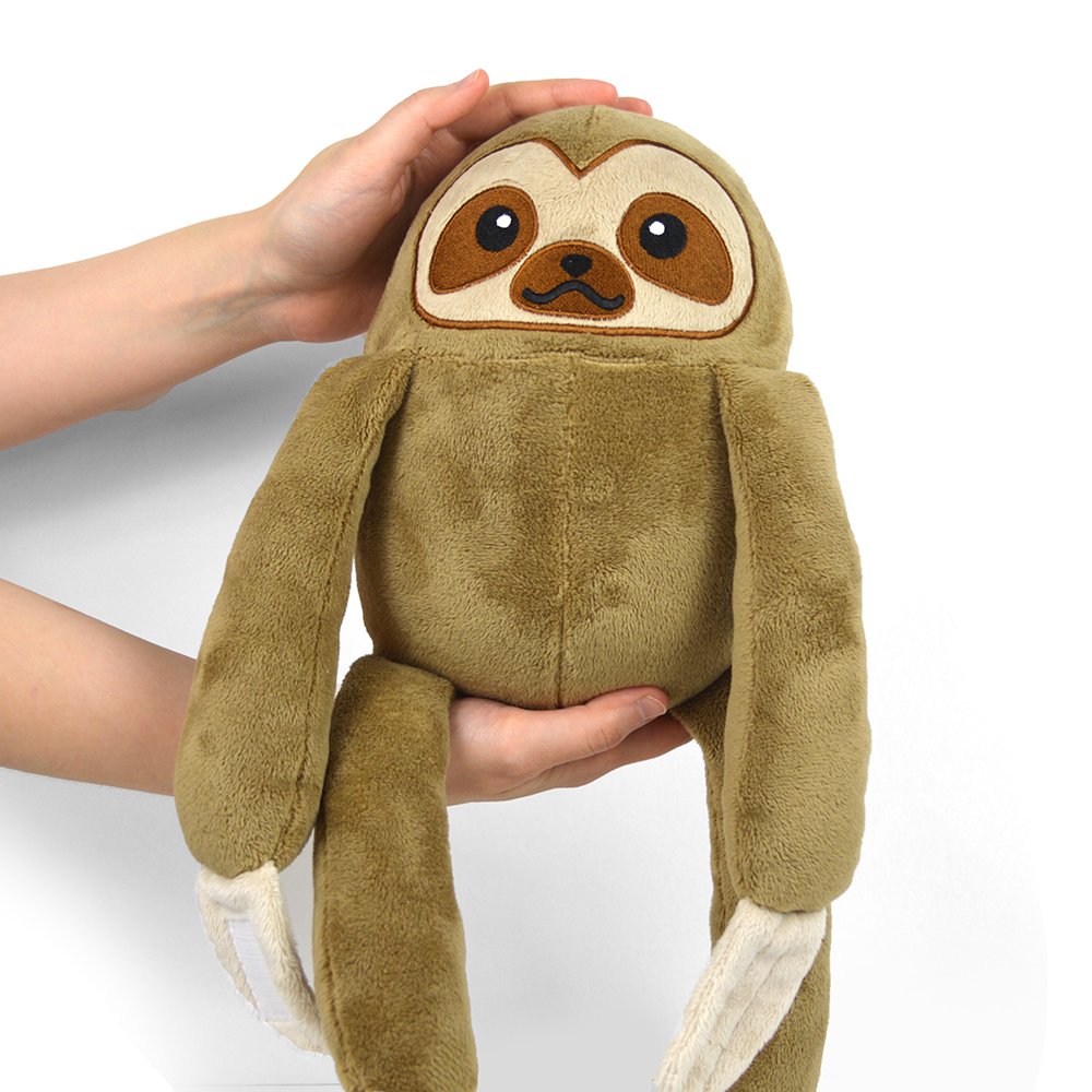 image about Free Printable Stuffed Animal Patterns named No cost Practice Friday! Sloth Plush Choly Knight