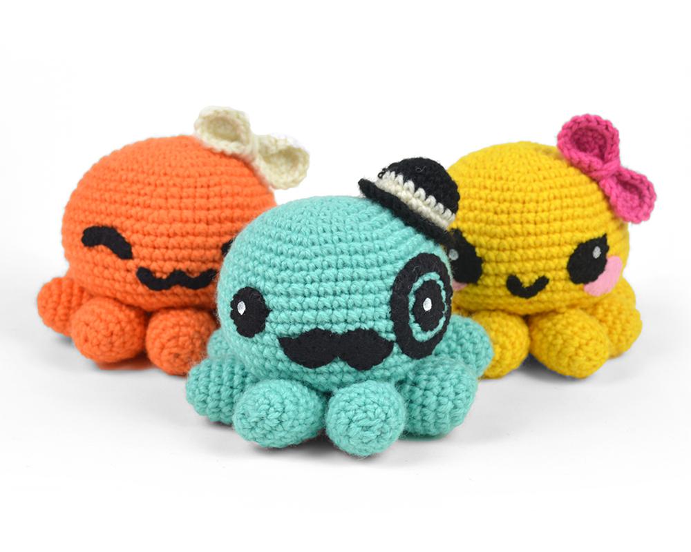 Free (Crochet) Pattern Friday! Octopus Amigurumi | Choly Knight | 800x1000