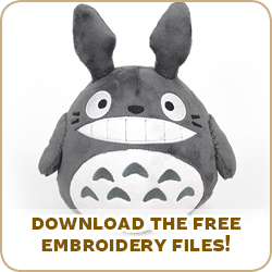 Free Pattern Friday! Totoro Plush | Choly Knight