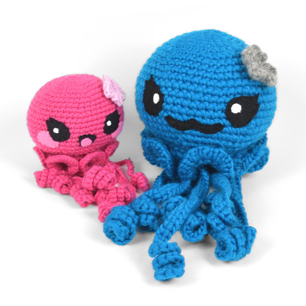Amigurumi Jellyfish Crochet Free Pattern&Video - #Amigurumi ... | 1000x1000