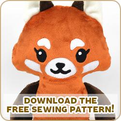 Free Pattern Friday Red Panda Plush Choly Knight