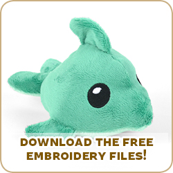Free Pattern Friday Dolphin Plush Choly Knight