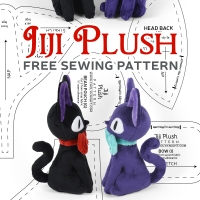 Free Pattern Friday! Jiji Plush