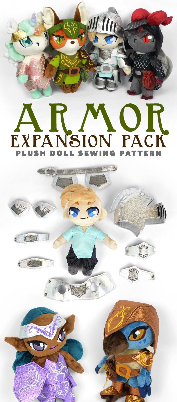 Armor Expansion Pack Sewing Pattern